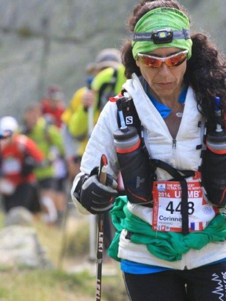 Corinne Fernandez, UTMB 2014