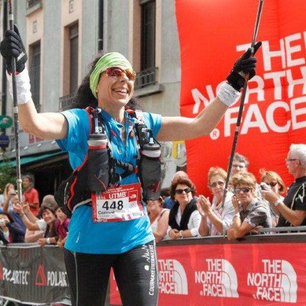 Corinne Fernandez, Finisher UTMB 2014