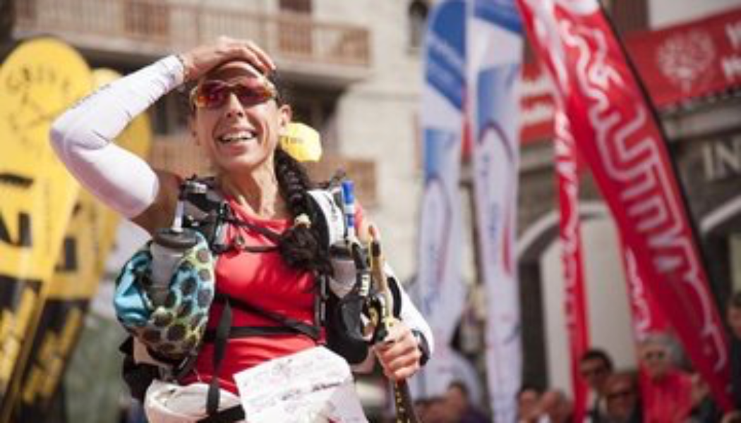 Corinne Fernandez, arrivée TOR des Géants 2013