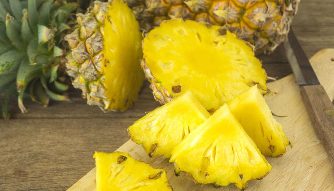 Corinne Fernandez, recette carpaccio Ananas